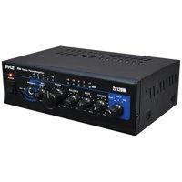 Pyle Home PTA4 120-watt X 2 Mini Stereo Power Amp