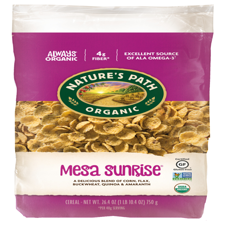 Nature's Path Organic Gluten Free Cereal Mesa Sunrise 26.5 Oz