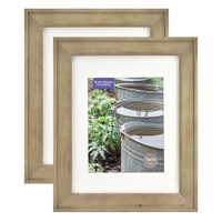 Better Homes & Gardens 11x14/8x10 Rustic Wood Picture Frame, 2pk