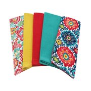 Mainstays Teal Kitchen Towel, 5 Count
