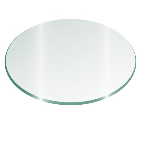"36"" Round Glass Top 1/4"" Thick - Flat polish Edge"