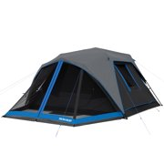 abdcbbc7cb6 Ozark Trail 6-Person Instant Dark Rest Cabin Tent with LED Lighted Poles