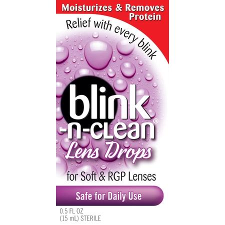 Blink-N-Clean Lens Drops, 0.5 Fl Oz/15 ml](Red Contact Lenses Cheap)