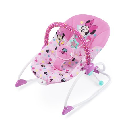 Disney Baby Minnie Mouse Stars & Smiles Infant To Toddler Rocker ()