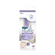 Schick Intuition Pure Nourishment Women's Razor - 1 Razor Handle Plus 2 Refill Razor Blades