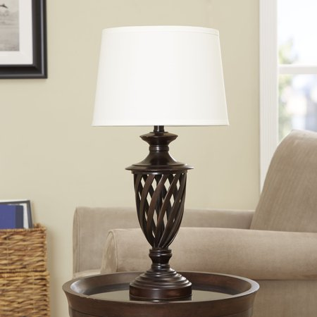 Better Homes Gardens Cage Table Lamp Base Antique Bronze Finish