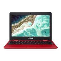 "Asus Chromebook 12 C223NA-DH02-RD 11.6"" LCD Chromebook - Intel Celeron N3350 Dual-core (2 Core) 1.1GHz - 4GB LPDDR4 - 32GB Flash Memory - Chrome OS"