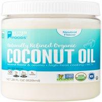 BetterBody Foods Refined Organic Coconut Oil, 28.0 Fl Oz