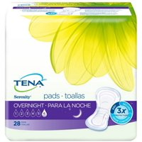 4 Pack - TENA Incontinence Pads for Women, Overnight 28 ea