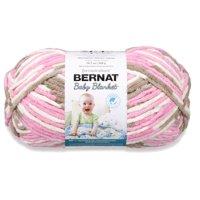 Bernat Baby Blanket Big Ball Yarn, Little Roses