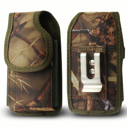Rugged Nylon Pouch with Belt Clip loop For Iphone 6/6S Plus 5.5inch Plus Camo Cell Phone With Cover