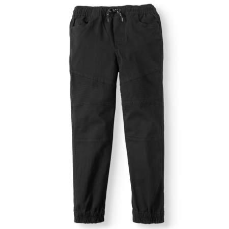 Stretch Dance Pants - Pull On Stretch Twill Moto Jogger Pant (Big Boys)