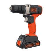 BLACK+DECKER 20-Volt MAX* Lithium Cordless Drill, BCD702C1