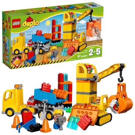 LEGO DUPLO Town Big Construction Site 10813 (67 Pieces)