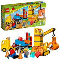 LEGO DUPLO Town Big Construction Site 10813 (67 Pieces)