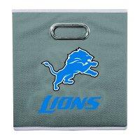 Franklin Sports NFL Detroit Lions Collapsible Storage Bin