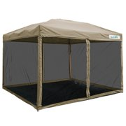 Quictent 8x8 Ez Pop Up Canopy With Netting Screen House Instant Gazebo Party Tent Mesh Sides