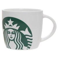 Starbucks 14oz White Ceramic Mug