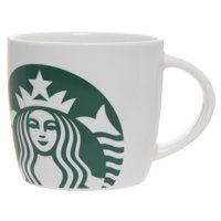 Starbucks 14oz White Ceramic Mug