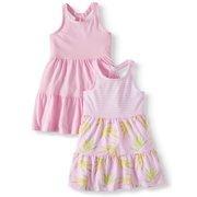 73d35dc025b54 Racerback Knit Dresses, 2-pack (Toddler Girls)