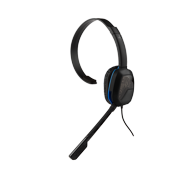 PDP Afterglow PS4 LVL 1 Chat Headset, Black, 051-031