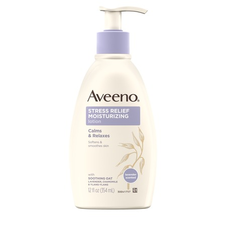 Aveeno Stress Relief Moisturizing Lotion to Calm & Relax, 12 fl. oz