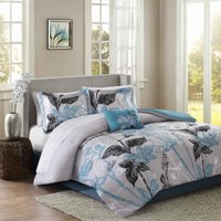 Home Essence Kendall Bed in a Bag Comforter Bedding Set