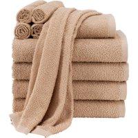 Mainstays Value Terry Cotton Bath Towel Set - 10 Piece Set