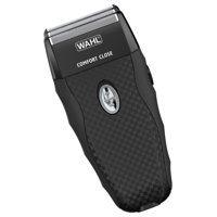 Wahl Flex Shave Rechargeable Foil Shaver features ergonomic shape,soft touch grips, pop-up trimmer for trimming sideburns, beard or mustache. Model 7367-400