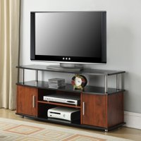 """Convenience Concepts Designs2Go Black/Cherry Monterey TV Stand for TVs up to 46"""""""