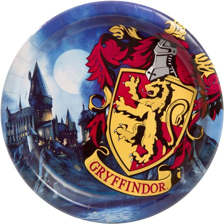 Harry Potter Paper Dinner Plates, 9in, 8ct](Harry Potter Birthday Party Supplies)