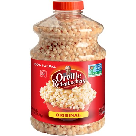 Orville Redenbacher's Original Yellow Popcorn Kernels, 45 (Best Organic Popping Corn)