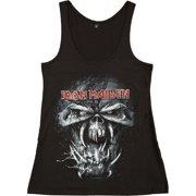 15cfffc0 Iron Maiden Women's Final Frontier Eddie Womens Tank Black