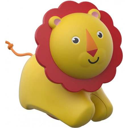 Fisher-Price Roller Lion with Sounds & Sensory Play