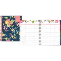 "Day Designer for Blue Sky 2019 Weekly & Monthly Planner, Twin-Wire Binding, 8.5"" x 11"", Peyton Navy"