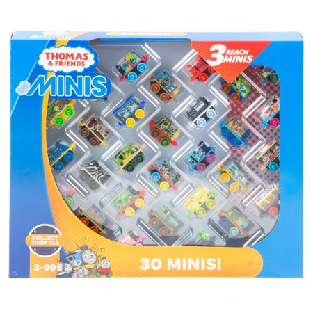 Thomas & Friends MINIS, 30-Pack 2018 Train Engines (Voice Over For Thomas The Tank Engine)