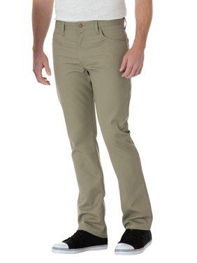 Dickies Men's Slim Straight 5-Pocket Twill Work Pants
