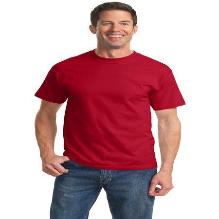 Port & Company Essential T-Shirt. Red. 3XL.