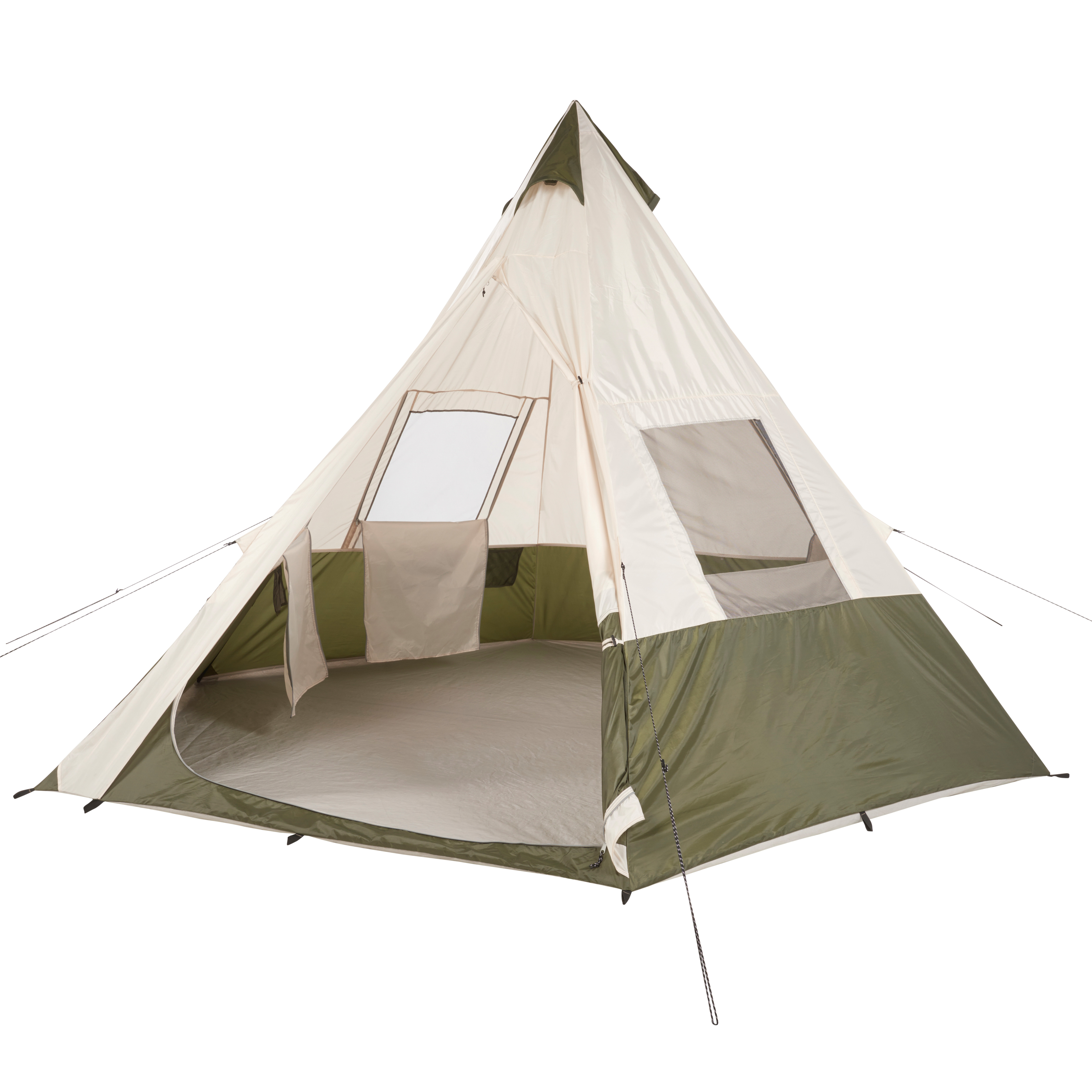 Ozark Trail 7-Person Teepee Tent without Center Pole Obstruction  sc 1 st  Walmart & 6 8 Person Tents
