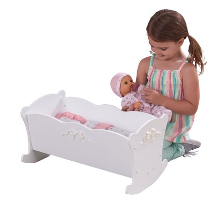 KidKraft Tiffany Bow Doll - Doll Cradle Doll Furniture