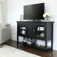 "52"" Wood Console Table Buffet TV Stand for TV's up to 55"", Multiple Finishes"
