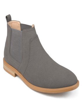 Territory Men's Faux Leather Chelsea Boots