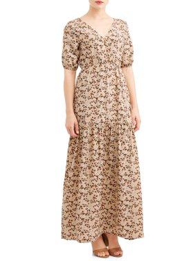 Women's Printed Maxi Dress