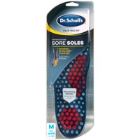 Dr. Scholl's Pain Relief Orthotics for Sore Soles for Men, 1 Pair, Size 8-14