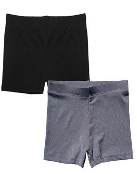 Popular Girl's Premium Playground Shorts - 2 pack