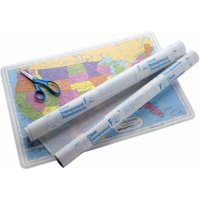 Con-Tact Vinyl Durable Repositionable Self-Adhesive Contact Paper for Lamination, Multiple Sizes, Clear