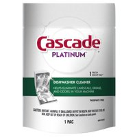 (2 Pack) Cascade Dishwasher Cleaner Fresh Scent 1 Count