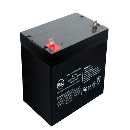 Eaton Powerware PW9120-1500 MFD After 1/1/06 12V 75Ah UPS Battery - This is an AJC Brand Replacement