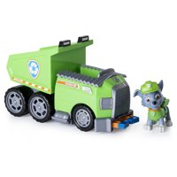 Paw Patrol - Rocky's Recycle Dump Truck Vehicle with Rocky Figure