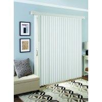 Better Homes and Garden Room Darkening Vertical Blind, White